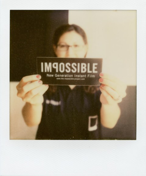 Impossible Project Bumper Sticker - Help Promote!