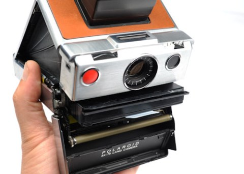 Pull the film cartridge ....