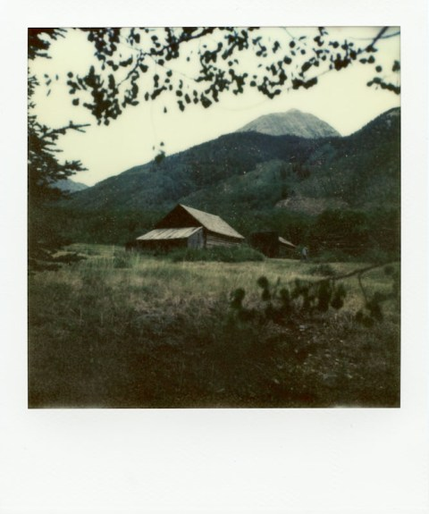 Ashcroft, Colorado - Impossible Project PX-70 COOL