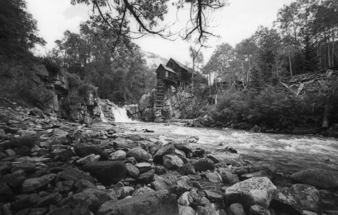 Crystal Mill - Colorado - Adox 20 - Leica M2 - 15mm CV Heliar