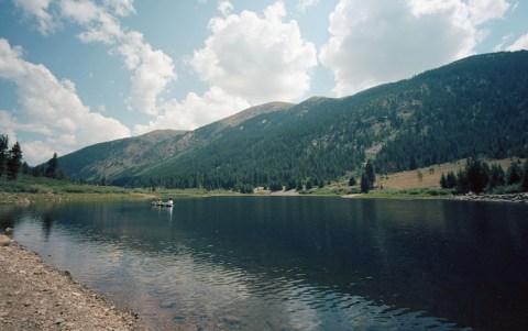 Fly Fishing @ Lost Man Reservoir - Leica M2 - 15mm Voigtlander - Ektar 100