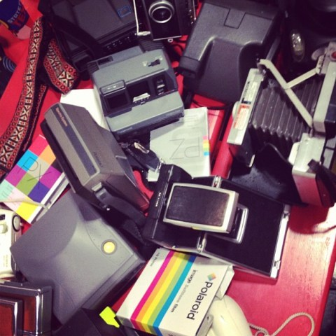Photo: Catherine Downes - Instagram - Part of the slew of equipment we rolled with ;-)