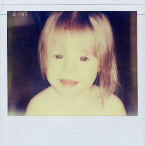 Polaroid Macro 5 SLR - Impossible Project PZ680 Old Generation