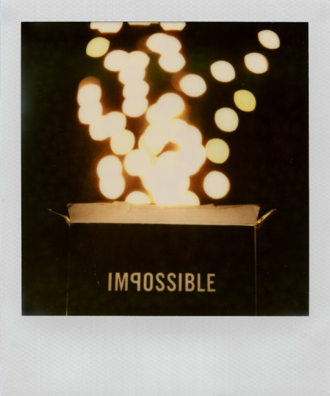 Impossible Project PX-680 V4C Black Paste Film