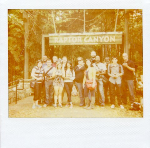 PolaWalk at the Ft. Worth Zoo - Polaroid Spectra AF - Polaroid Softtone Film