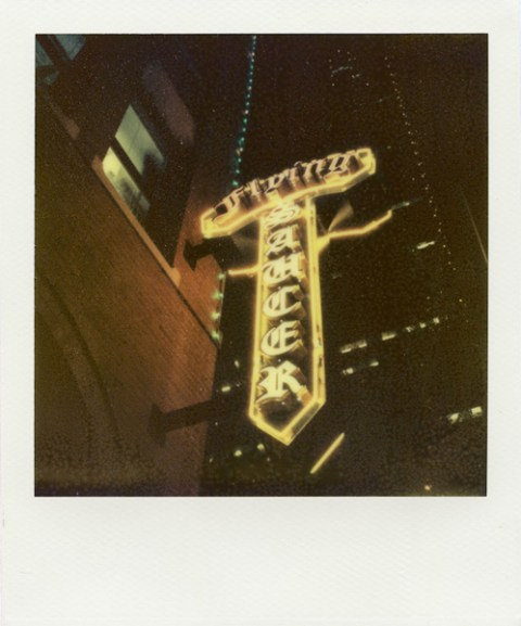 Photo: Justin Goode - Polaroid SX-70 - Impossible Project PX-70 COOL