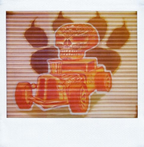 Photo: Troy Bradford - Polaroid Spectra SE - Polaroid Softtone