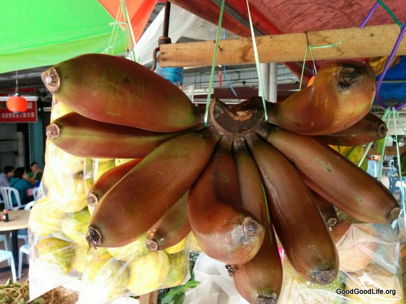 Red Banana of Bukit Tinggi