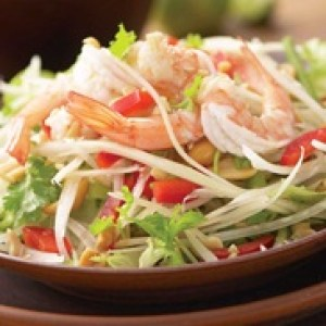 Thai style Shrimp & Papaya Salad