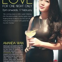 Meet Amanda Wan, Mixologist Extraordinaire from Hong Kong For One Night Only