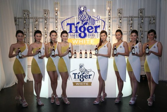Brand Ambassadors at Tiger White Launch on 16 November 2015.