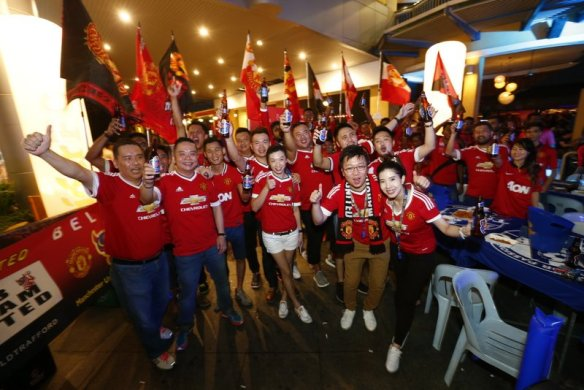 Fans gather at Tiger FC Big Away Game held at Laundry Bar, The Curve on May 1.