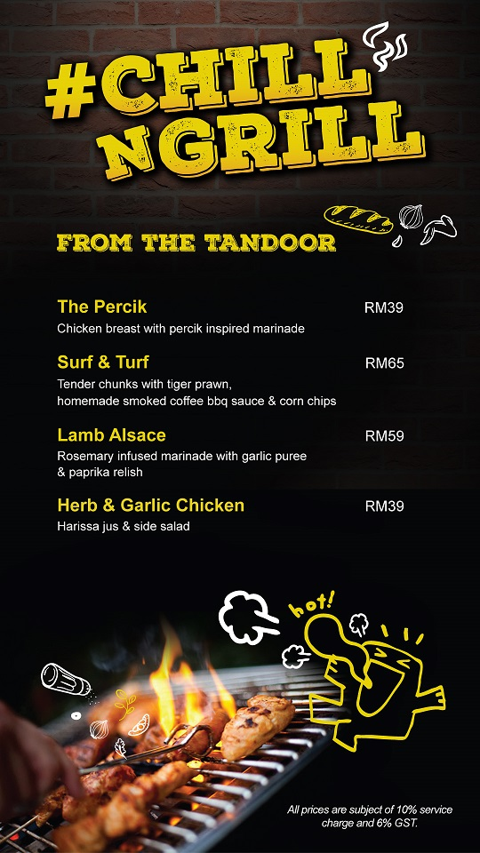 ChillnGrill-Menu-From The Tandoor