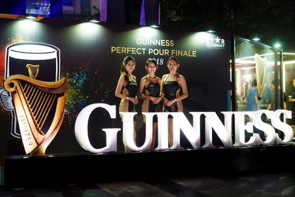 Guinness' Brand Ambassadors during the Guinness Perfect Pour Finale event at The Square, Publika