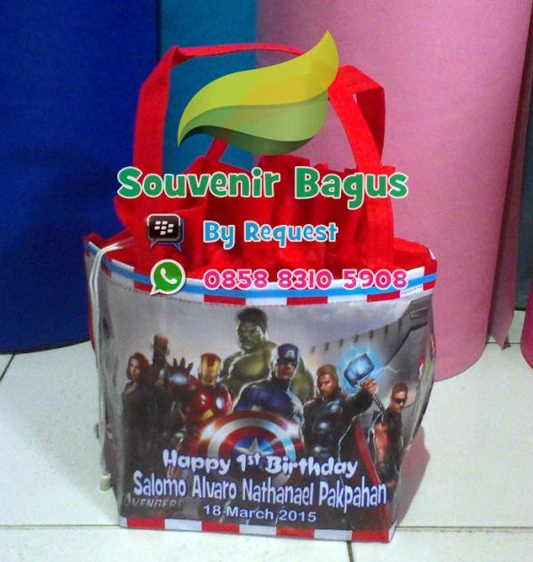 Tas Ulang Tahun Anak The Avengers
