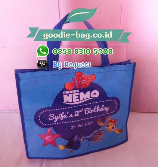 Tas Souvenir Ulang Tahun Anak Nemo