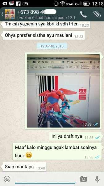 Proses draft desain