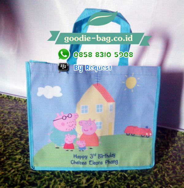 Tas souvenir Ulang Tahun Peppa Pig