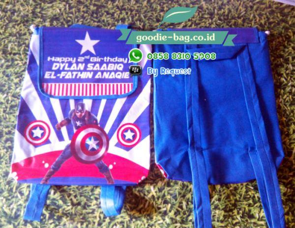 Tas Ultah Gendong Murah avenger captain america jakarta