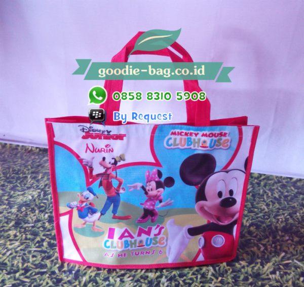 Tas Ulang Tahun Mickey Mouse