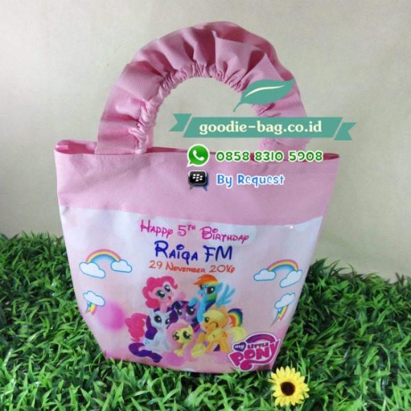 Tas ulang tahun little pony murah jakarta depok bekasi tangerang bogor papua