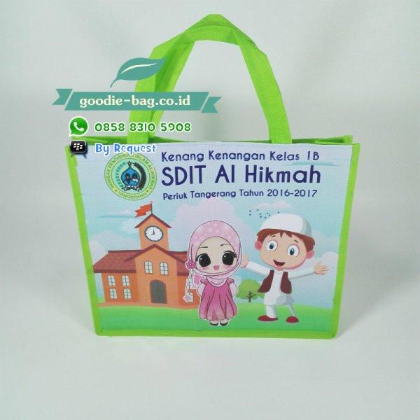 tas souvenir kenang kenangan sekolah SD TK SMP SMA