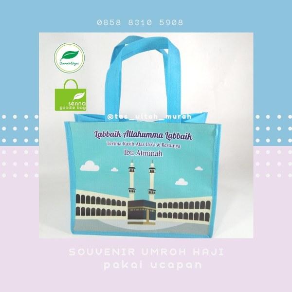 Goodie Bag Souvenir Umroh Haji 2020 Jakarta bekasi