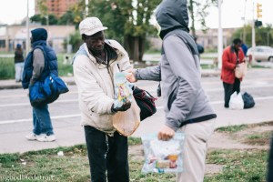 GIVE Club Serves Detroit on Make a Difference Day