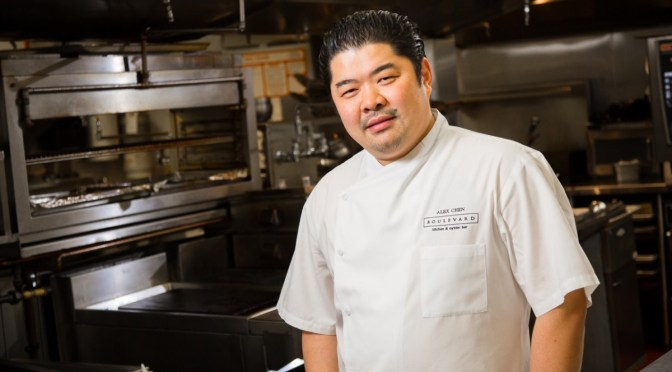Interview with Alex Chen Boulevard Restaurant Gold Medal Plates Competitor