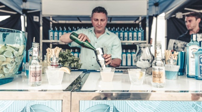 BOMBAY SAPPHIRE EAST and Cocktails with David Wolowidnyk