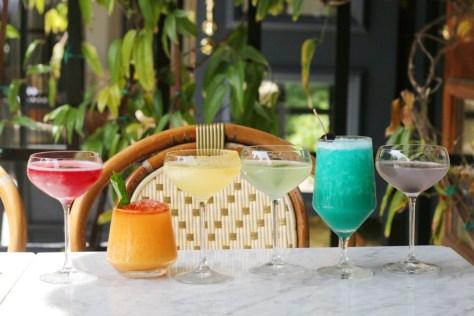 boulevard pride week rainbow cocktails