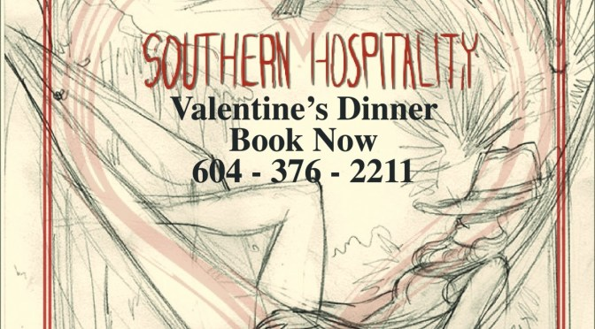 Dock Lunch Presents Valentine Dinner Southern-Romantic