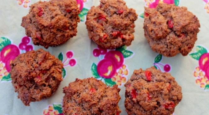 Gojoy Goji Berry Muffins