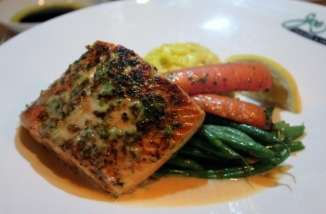 Joe Fortes Sockeye Salmon