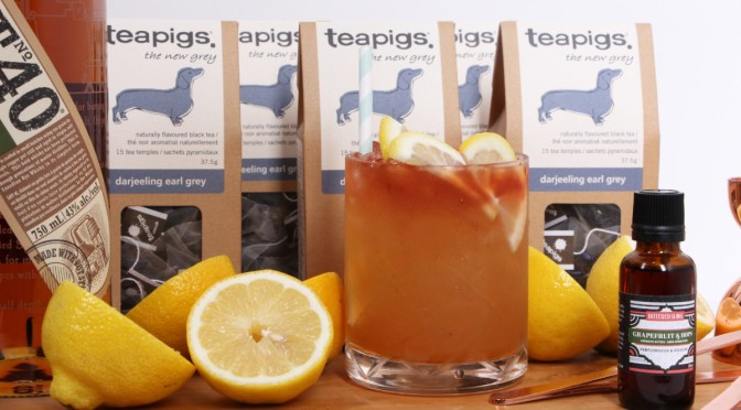 National Iced Tea Day Cocktail With Teapigs