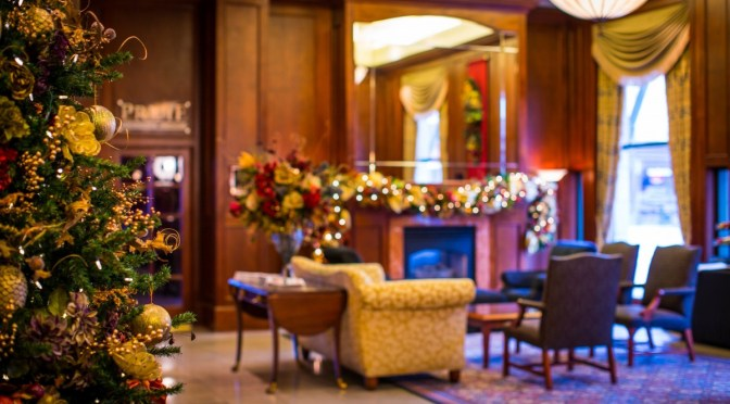 Holiday Season Getaway at Victoria's Magnolia Hotel