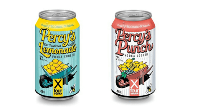 Percy's Old Fashioned Lemonade and Percy's Punch Now Available