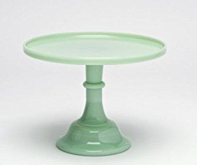 jade cake stand