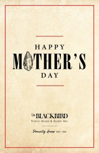 mothers day blackbird