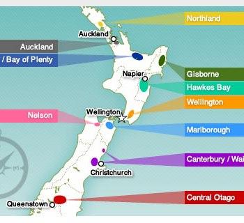 nz wine regions