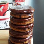 Nutella Filled Cookies