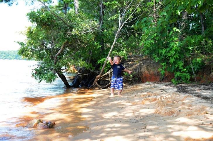Baby-at-the-lake