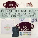 Overnight Bags For Older Siblings