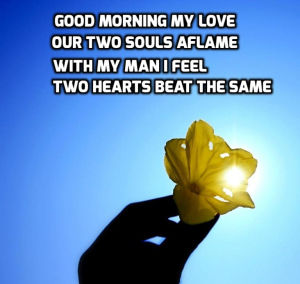 Good morning poems for him with images