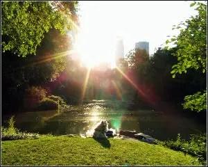 Good Morning Poems for him Sunrise over Lake