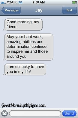 Inspirational Good Morning sms Messages_Good Morning My Love_Text9