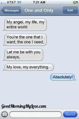 Good Morning Love sms_Romantic Good Morning sms 3