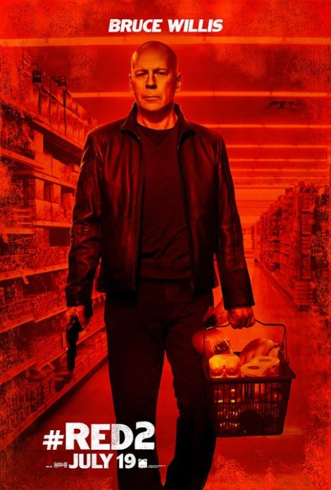 Red 2 Character Poster Brice Willis