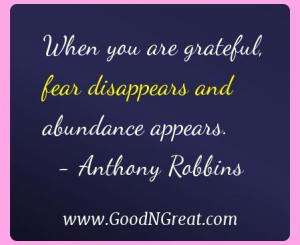 Anthony Robbins Gratitude Quotes