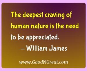 WIlliam James Gratitude Quotes
